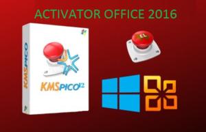 Download Activator MS Office 2016 KMSpico